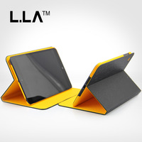 New Arrival Color Mix Pu Leather Flip Case Cover Case For Apple iPad Mini Free Shipping HK Post With Retail Package