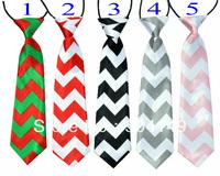 baby girl boy chevron neckties, zig zag necktie, neckwear