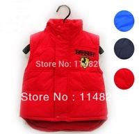 New style autumn / winter baby boy;s / girl's  vest Fur Vest Waistcoat kids Letter vest / coat ourwear ,1pcs