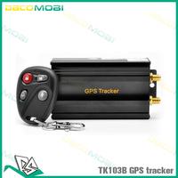 TK103B GPS Tracker with Remote Control Quadband GPRS Tracking Device , Singaproe Post Shipping