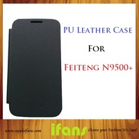 Feiteng H9500+ 5inch MTK6589 Mobile Phone Leather Case
