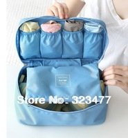 Min. order is $9.99 multifunctional underwear and bra storage pouch portable wash bags of travel kits