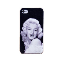 Sexy Marilyn Monroe Design Proctective Case For i phone iPhone4 iphone4s iphone 4 4g 4s Hard Cover