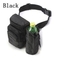 Free shipping Outdoor Nylon Waist pack Men's Water Bottle Shoulder Bags men luggage & travel bags