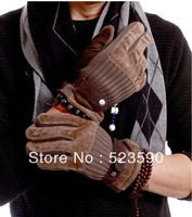 Soft Warm Cotton Gloves, Motor Bike Special Glove, Leisure Men's Gloves  ,Free Shipping