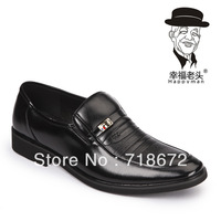 2013 new, men, first layer of leather, occupation, business, everyday casual, oxford shoes, wedding dress shoes, free shipping