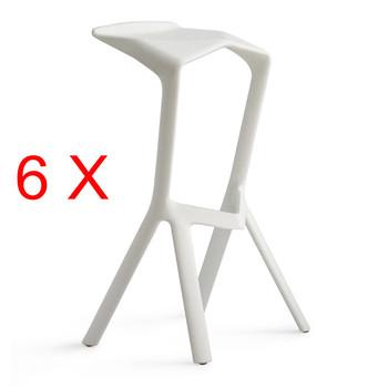 6 X Miura Barstools bar chair