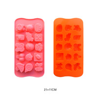 100% silicone chocolate ice soaps cake moulds cupcake cookie cutter soap mold for kitchen