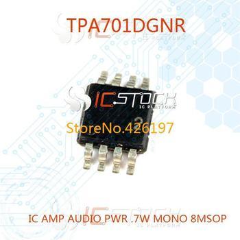 TPA701DGNR IC AMP AUDIO PWR .7W MONO 8MSOP 701 TPA701 10pcs