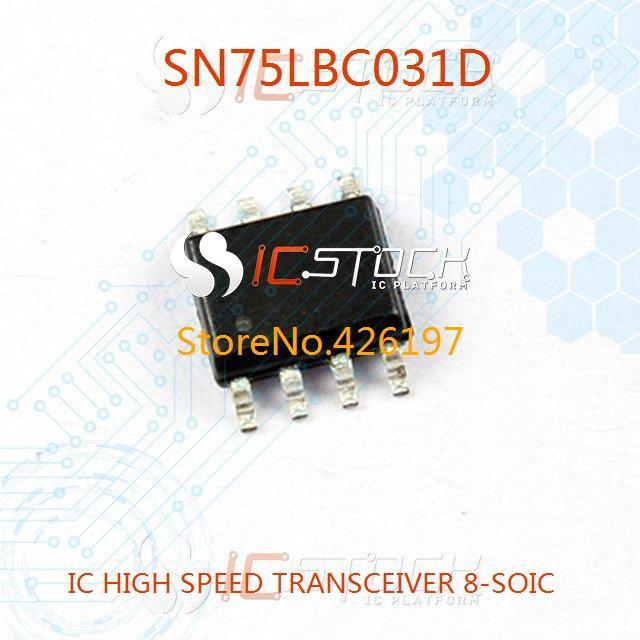 SN75LBC031D IC HIGH SPEED TRANSCEIVER 8-SOIC 031 SN75LBC031 3pcs(China (Mainland))