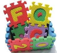 Educational toy EVA foam digital letters 3D puzzle mats baby toys