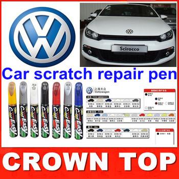 2013 new arrival Car scratch repair pen, auto paint pen for Volkswagen polo, Tiguan,passat,livida,touran, FREE SHIPPING