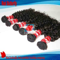 pony tail Queen hair products Brazilian virgin hair curly 4pcs lot,Grade 5A,100% unprocessed hair,no shedding