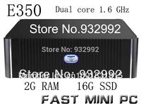 The NEW BRAND Intel dual core1.60GHz  2G memory 16G SSD mini PC  THIN CLIENT MINI COMPUTER