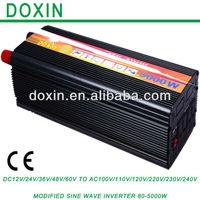 5000 Watt High Capacity  DC12v to AC 220V Modified Sine Wave Off Grid Inverter