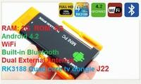 CX919 II Mini pc Android 4.2 RK3188 Quad Core 2G RAM 8G ROM Built-in Bluetooth  Dual External Antenna TV dongle J22  CX-919 II
