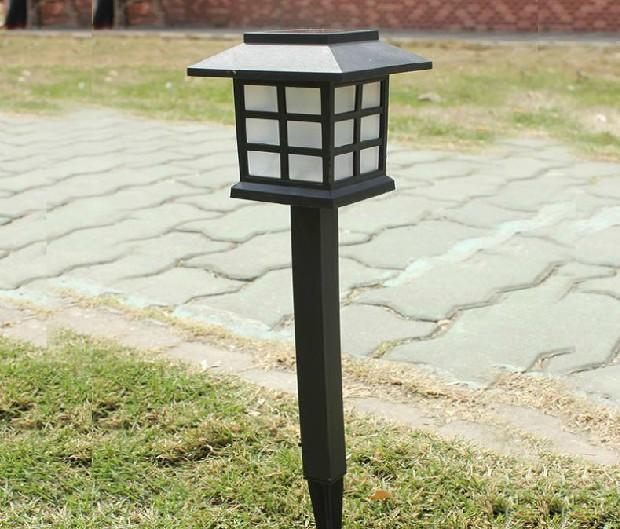 free shipping x 6pcs outdoor waterproof led solar garden