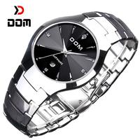 2014 DOM reloj hombre,Top luxury Brand men Business quartz watch,fashion casual waterproof sapphire tungsten steel watches