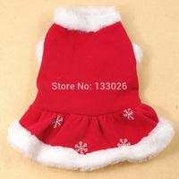 New design Christmas dog clothes cute Santa pet clothing warm winter small medium dog cat Chihuahua Yorkshire Poodle Pitbull