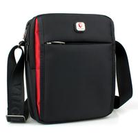 Black Canvas Men's Crossbody Bags Messenger Bag Shoulder Bag Crossbody Purse Men Bag Business