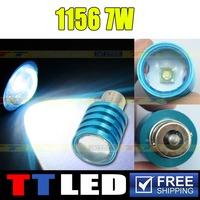2 X S25 1156 1157 BA15S BAY15D P21W CREE 7W LED High Power Rogue Car Reverse Backup Tail led bulb 12V white Drop shipping #TF13