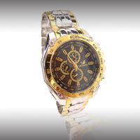 HOT New Fashion Men watch Black Stainless Steel Quartz watches Wrist Watch High-end grade  White Wholesale RO-11