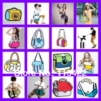 top sale 2d 3d messenger shoulder bag gismo cartoon cross body bag women tote promotion time free shipping