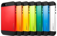 SGP SPIGEN Slim Armor Armour Armoured Case Cover for Apple Iphone 4 4G 4S  1pcs/lot