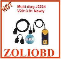 2015 newest come v2013 Professional MultiDi@g Multi-Di@g access J2534 OBD2 multidiag Multi Diag Multi-Diag access j2534 in stock