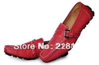 2013## New Fashion Mens Casual Shoes Loafers Genuine Leather Men Brand Casual Dress Shoes