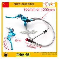 125cc 140cc 150cc dirt pit monkey bike blue color Hydraulic clutch level master cylinder accessories free shipping