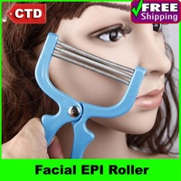 2pcs/lot Painless Facial EPI Roller Epilator Hair Removal Device Remover Tweezer Facial Hair Trimmer Women Trimmer