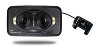 Free shipping new F8 car DVR 2.7 TFT vehicle black box digital camera video recorder G-sensor 3lens with 360 degree view angle