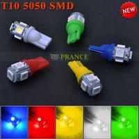 T10 5 5050 SMD LED Car Wedge Light Bulb Car Clearance Lamp LED Width Lamp car wedge light bulb No error