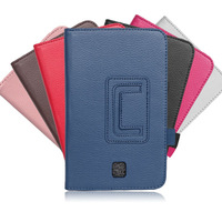"Folio Stand Leather Case For Samsung Galaxy Tab 3 7.0 7"" Tablet P3200 P3210 with Card Slots Handstrap Cover 7 Colors RCD01318"
