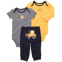 Carters baby 3-piece bodysuit pant set  long sleeve body+short sleeve body+pant Free shipping
