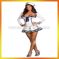 Free Shipping Sexy Nautical Marine Sailor Costumes AEWC-0377