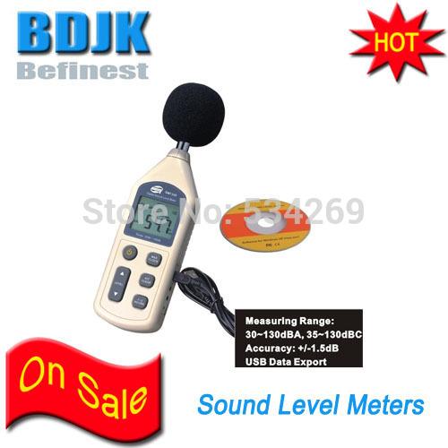 30 to 130dB Mini Digital Sound Level Meter / Sound Meters Free Shipping(China (Mainland))