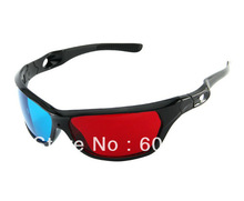 Free Shipping Hotsale Cheap 3D glasses,Promotion Adult 3D glasses,Home Use Red&Blue 3D glsses 5Pcs/Lot(China (Mainland))