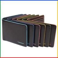 New fashion wallet brand cute wallets waterproof men wallets billfold colorful leather man purses for male P813-1