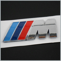 20 X ABS M POWER CAR 3M STICKER BADGE  Emblem Logo POWER SPORT HOOD BOOT Free shiping  By Post Air Mail