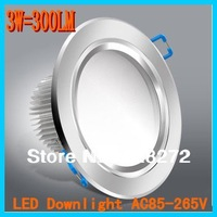 Hot sell!4pcs/lot,3W5W7W9W recessed led downlight,AC85-265V,CE&ROHS,LED Ceiling down light Cold white/Warm white free shipping