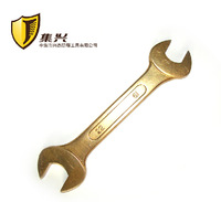 19*22mm Double Open End Wrench,Copper Spanner,Non-sparking Aluminium Bronze Alloy Craftsman Hand Tools
