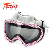 Panlees Free Shipping UV Sports Eyewear Skiing Snowboard Skiing Snow Goggles Anti Glare
