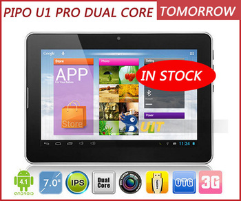 "Pipo U1 Pro  7"" IPS 1280x800 Android 4.1 Dual core 1.6GHz 1GB RAM 16GB Bluetooth WIFI Camera Picture"