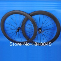 Hot Sale!Customized LOGO Carbon Clincher Wheels,50mm 700c Road Bicycle/tracking bike Wheels,Super Light,Free Shipping