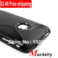 Free Shipping TPU Rubber Case Cover Skin for Apple iPhone 3 3G 3GS S Line TPU Case for iphone3gs