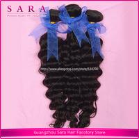 Rosa hair products:brazilian virgin hair weave,brazilian deep wave curly hair,mixed length 3.5oz/bundle free shipping