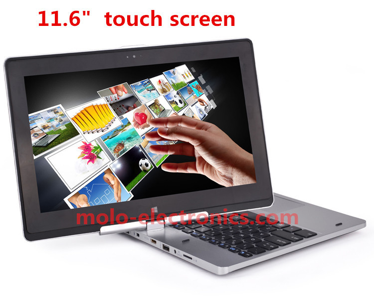 "11.6"" touch screen rotating notbook laptop Intel Celeron dual core Windows 8 camera HDD & SSD(China (Mainland))"
