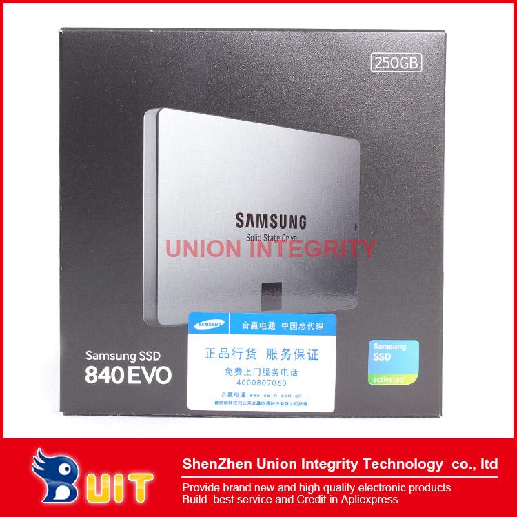 2013 New 840 EVO 250GB SSD 2.5 inches SATA3 for Server desktop Laptop(China (Mainland))